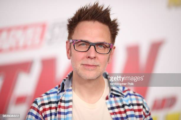 James Gunn attends the premiere of Disney And Marvel's 'AntMan And The Wasp' on June 25 2018 in Los Angeles California