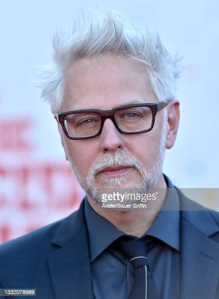 """James Gunn attends Warner Bros. Premiere of """"The Suicide Squad"""" at The Landmark Westwood on August 02, 2021 in Los Angeles, California."""