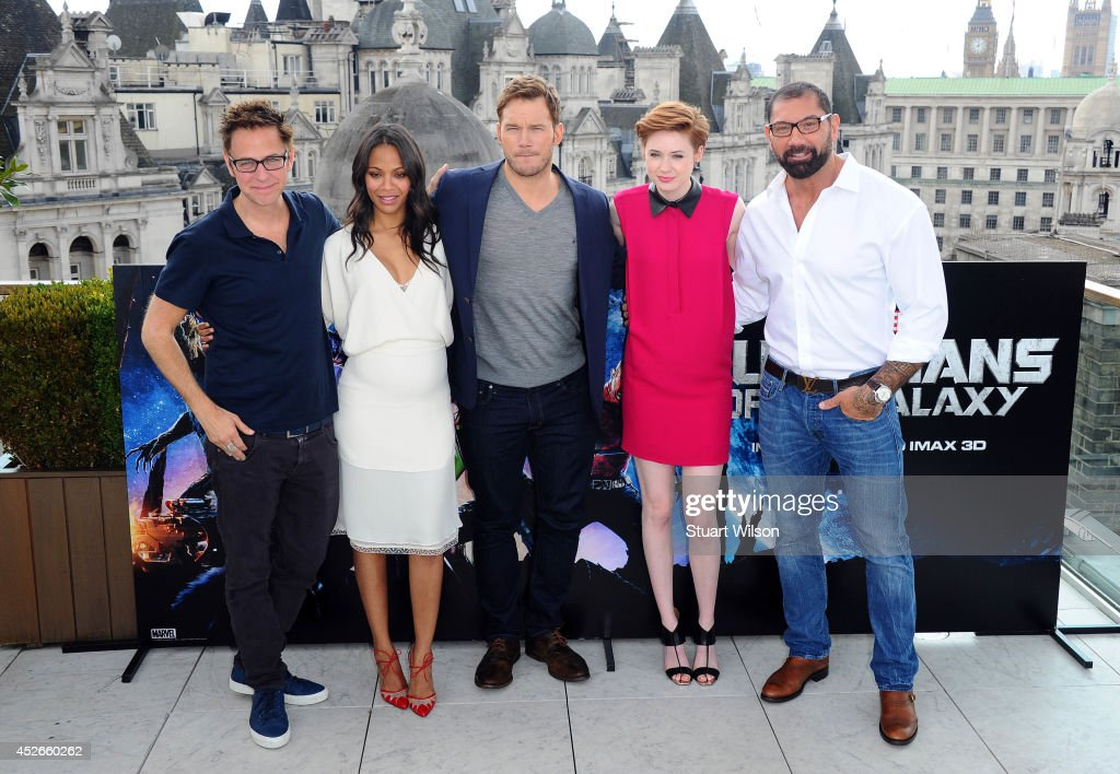 'Guardians Of The Galaxy' - Photocall : News Photo