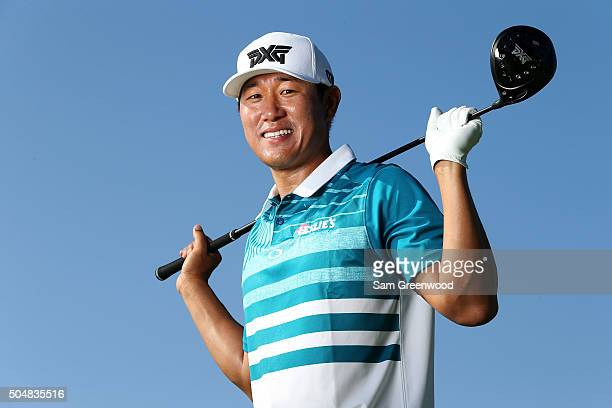 James Hahn poses during the Sony Open In Hawaii ProAm tournament at Waialae Country Club on January 13 2016 in Honolulu Hawaii