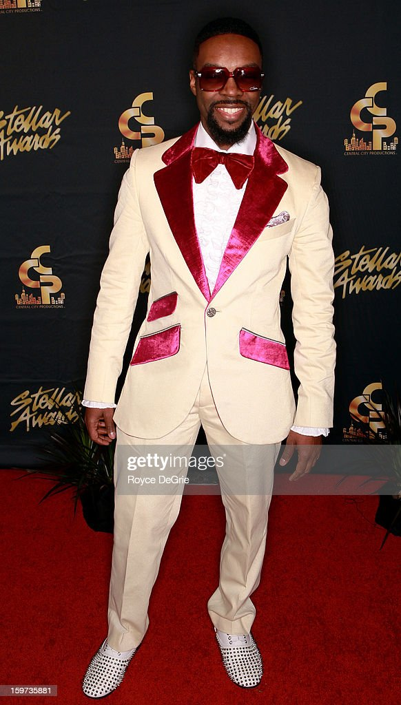 James Hall arrives to the 28th Annual Stellar Awards at Grand Ole Opry House on January 19, 2013 in Nashville, Tennessee.