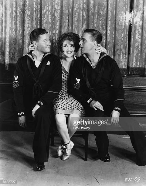 James Hall Clara Bow and Jack Oakie star in Paramount's 'The Fleet's In' directed by Malcolm St Clair