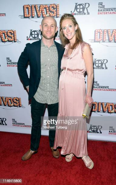 James Hammond and guest attend a Los Angeles VIP industry screening with the filmmakers and cast of DIVOS at TCL Chinese 6 Theatres on May 01 2019 in...