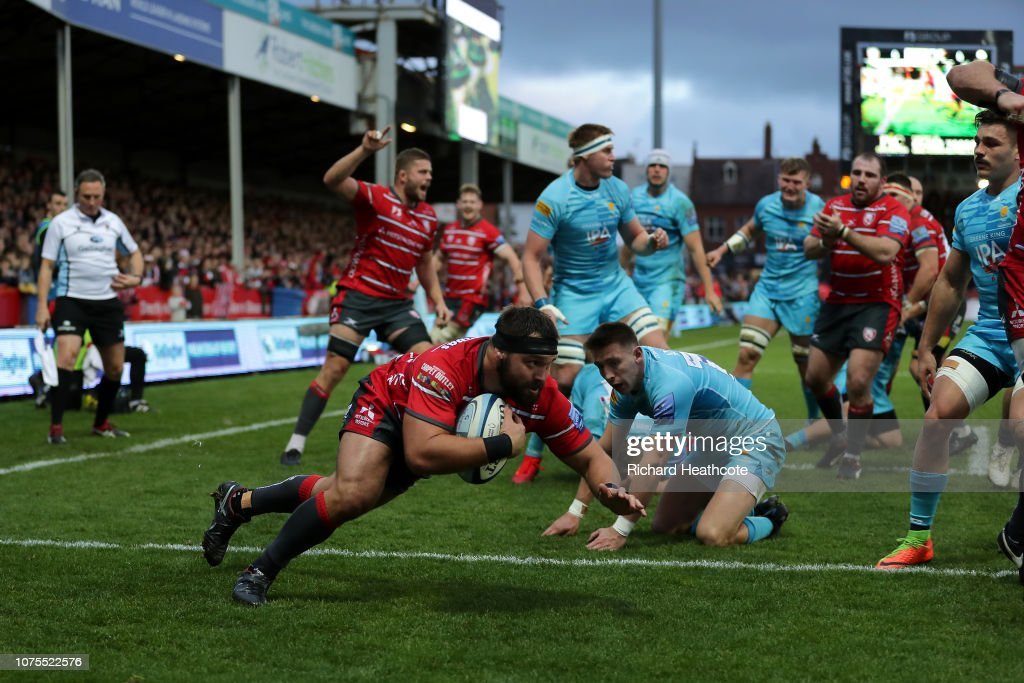 Gloucester Rugby v Worcester Warriors - Gallagher Premiership Rugby : News Photo