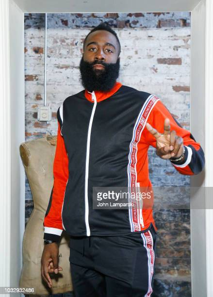 James Harden attends Melo Made presentation on September 13 2018 in New York City