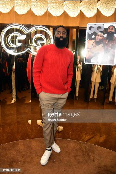 James Harden attends the GQ March Cover Party at The Standard Highline on March 01 2020 in New York City