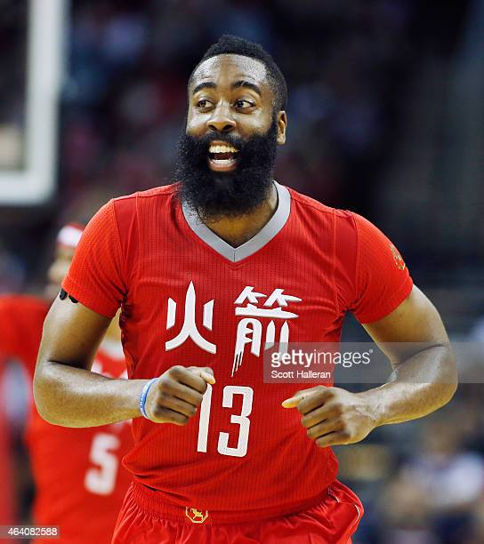 Rockets Vs Warriors James Harden: James Harden Stock Photos And Pictures
