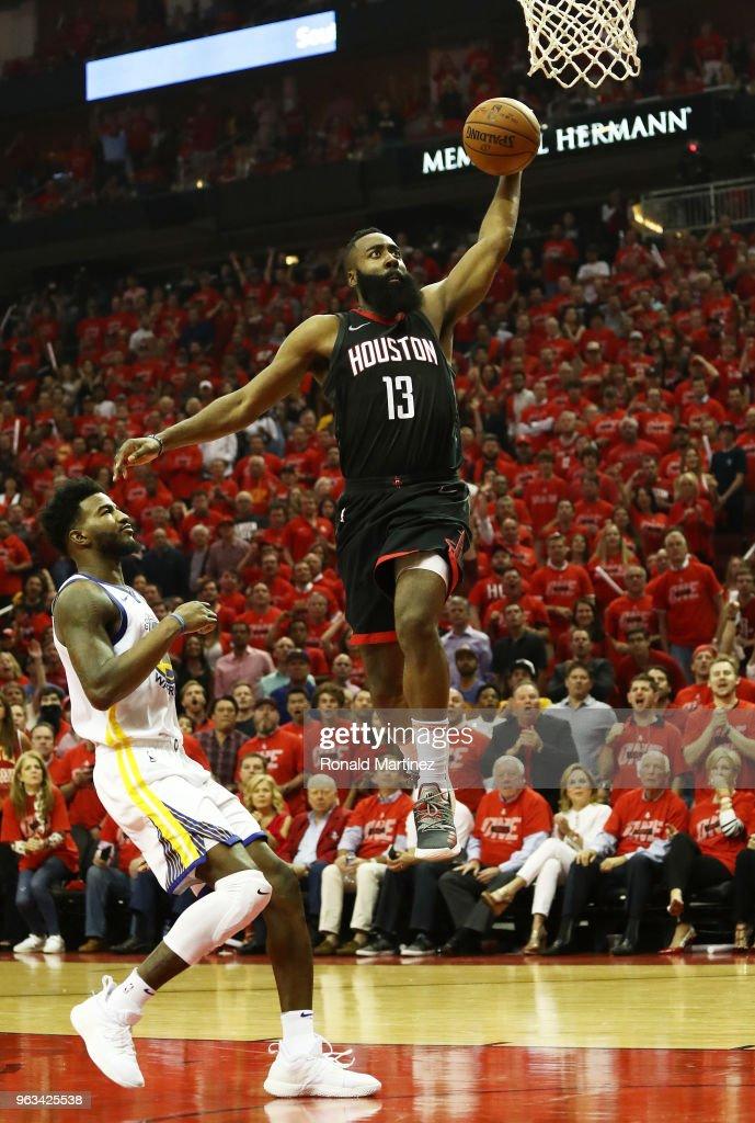 Golden State Warriors v Houston Rockets - Game Seven : News Photo