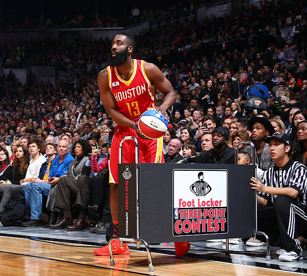 James Harden Points Last Night: Foot Locker Three-Point Contest 2015 Photos And Images