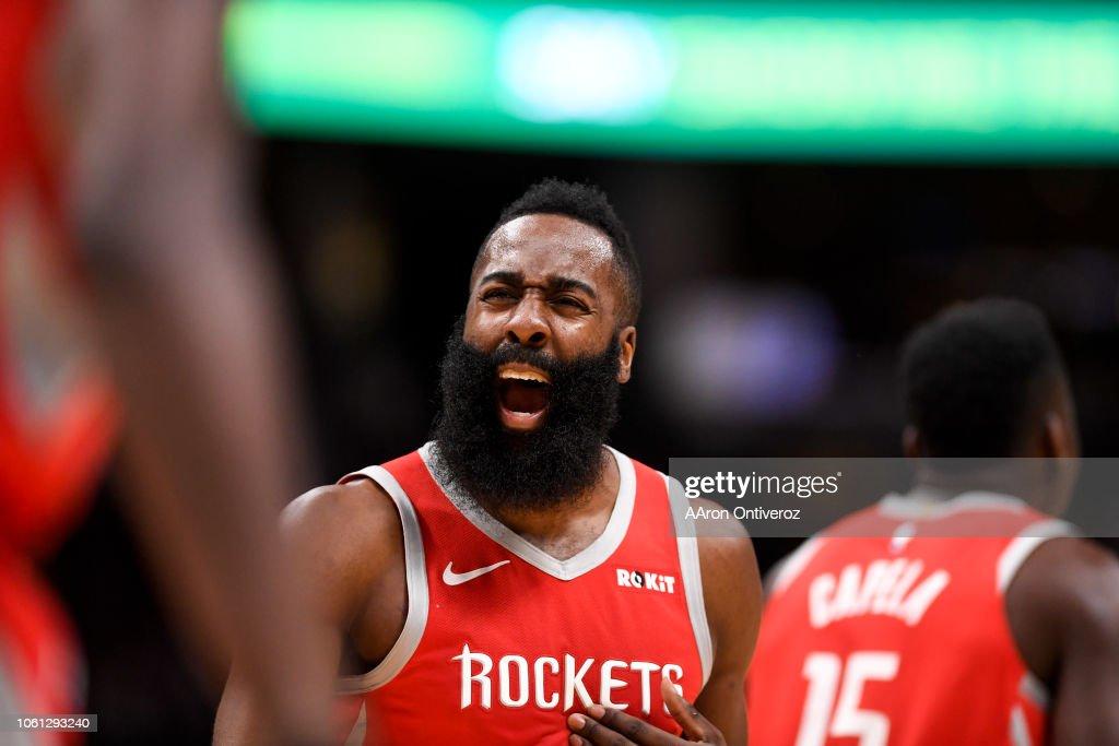 DENVER NUGGETS VS HOUSTON ROCKETS, NBA : News Photo