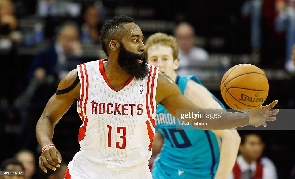 Charlotte Hornets v Houston Rockets : News Photo
