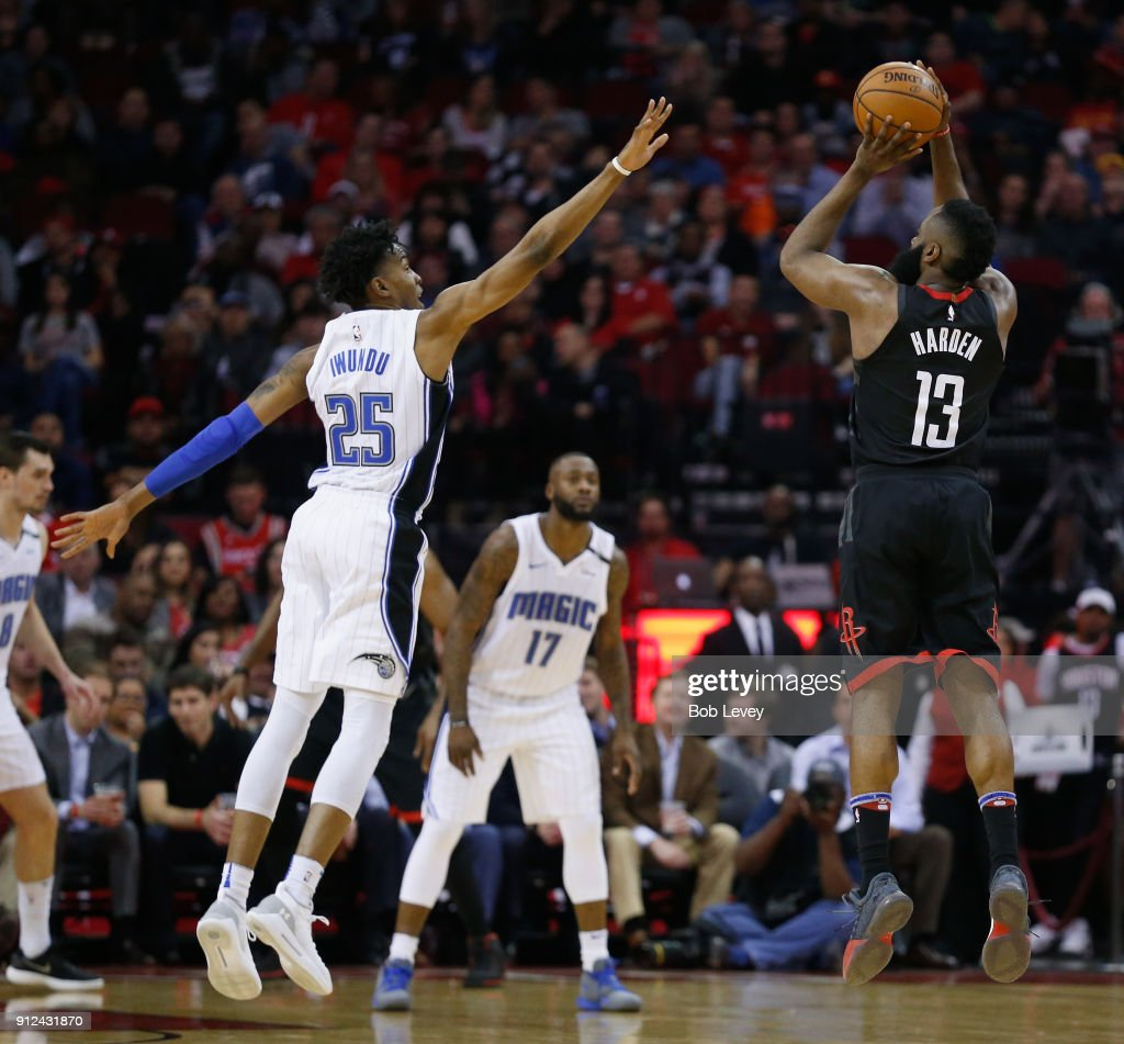 Image result for Harden shooting three pointers vs orlando