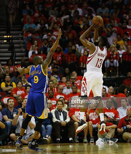 Rockets Vs Warriors May 24: Houston Rockets V Golden State Warriors Game Four Stock