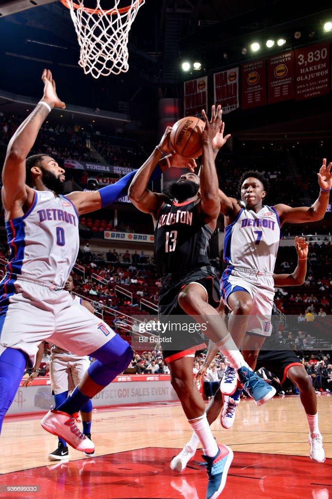 Detroit Pistons v Houston Rockets