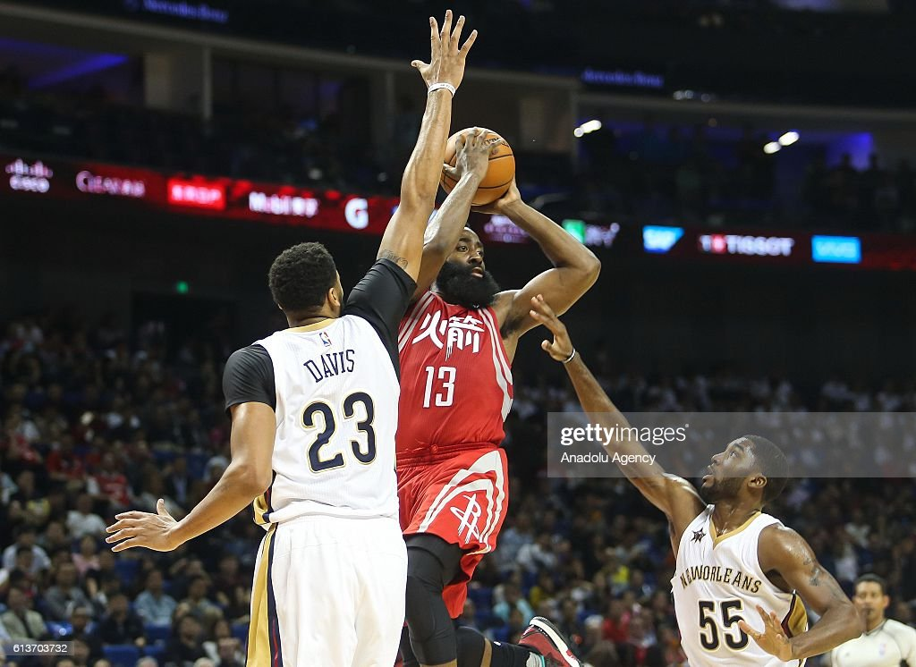 New Orleans Pelicans v Houston Rockets: 2016-17 NBA Global Games : News Photo