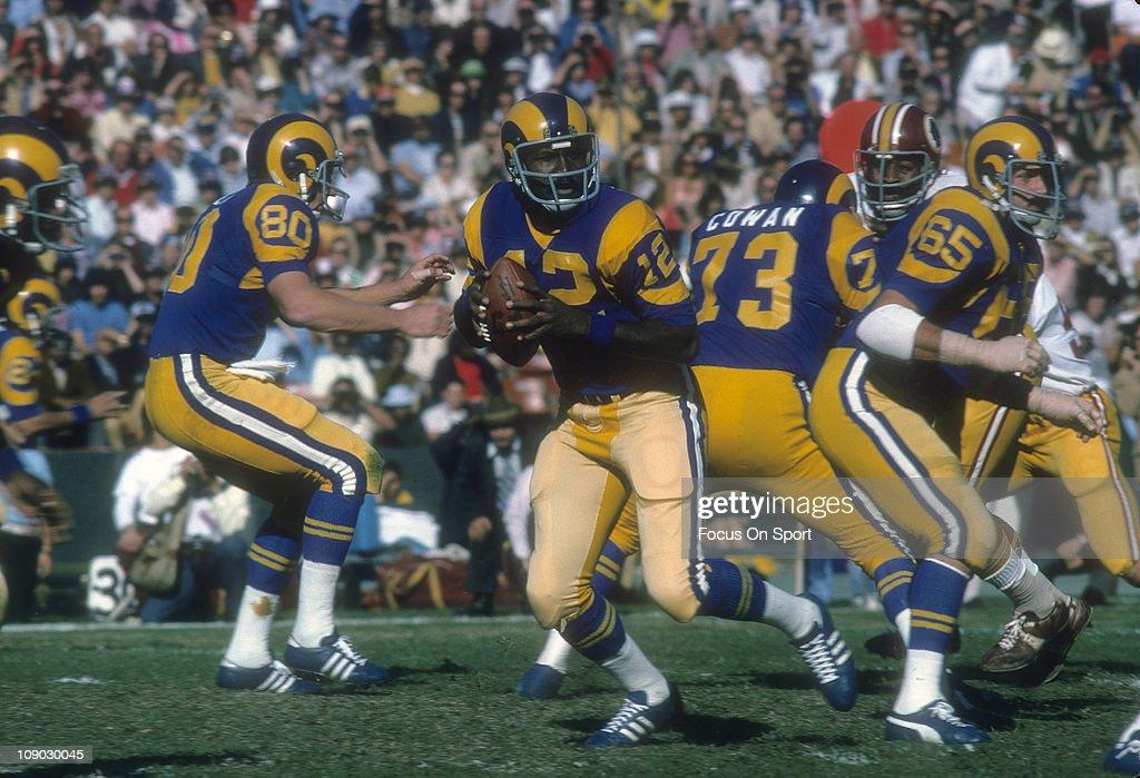 Washington Redskins v Los Angeles Rams : Foto jornalística