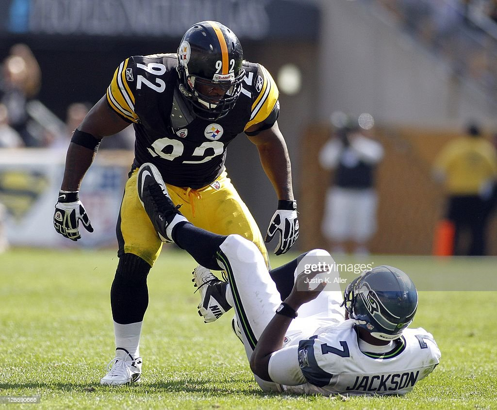 Seattle Seahawks v Pittsburgh Steelers : News Photo