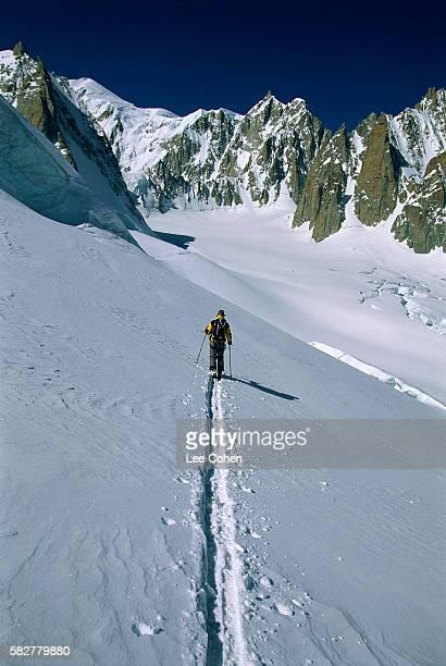 James Harvey Telemark Skiing in Italy