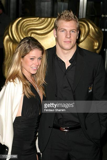 James Haskell and guest during British Academy Children's Film & Television Awards 2005 at Hilton Hotel in London, Great Britain.