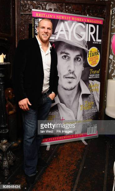 James Haskell at the Playgirl Magazine launch party at the Blanca Bar London
