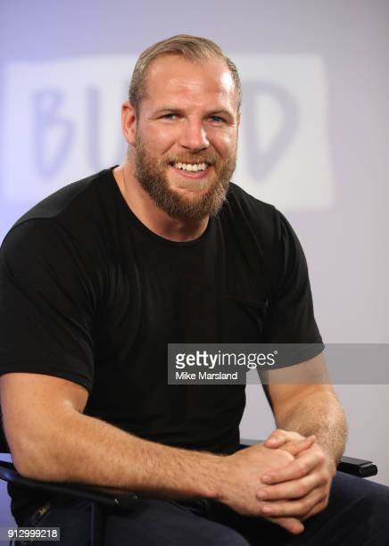 James Haskell during a BUILD panel discussion on February 1, 2018 in London, England.