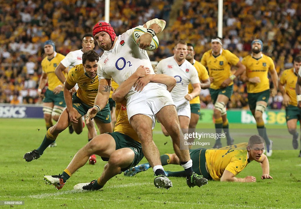 Australia v England : News Photo
