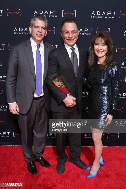 James Hausman 2019 ADAPT Leadership Award honoree Tony Danza and Susan Lucci pose during the 2019 2nd Annual ADAPT Leadership Awards at Cipriani 42nd...