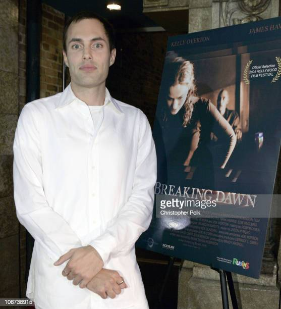James Haven during Hasbro's Rubiks Cube presents Breaking Dawn US Premiere at the Hollywood Film Festival at Cinespace in Hollywood CA United States