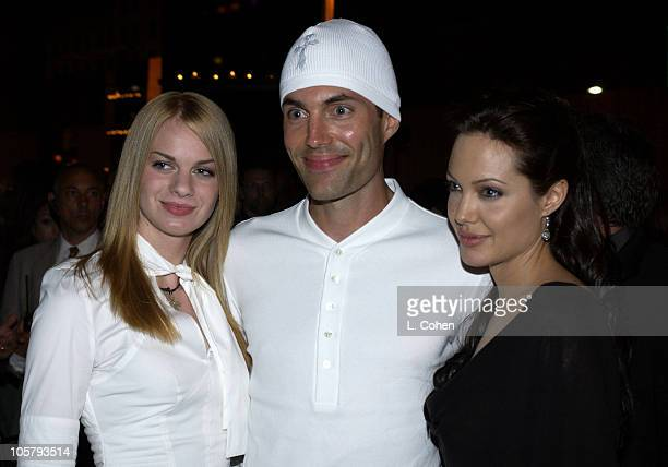 James Haven his girlfirend and Angelina Jolie