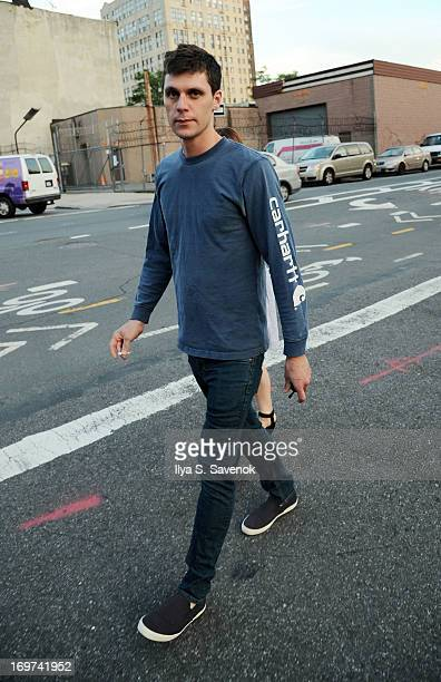 James Heerdegen is seen on May 31, 2013 in the Brooklyn borough of New York City.