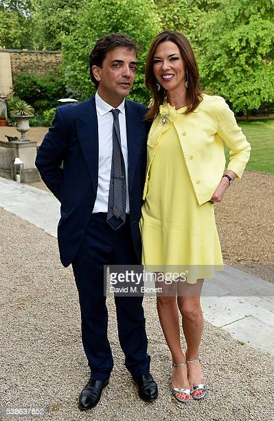 James Henderson and Heather Kerzner attend The Bell Pottinger Summer Party at Lancaster House on June 7 2016 in London England