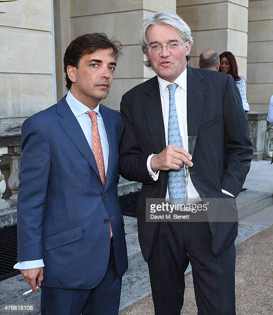 James Henderson and The Rt Hon Andrew Mitchell MP attend the Bell Pottinger Summer Party at Lancaster House on June 10 2015 in London England