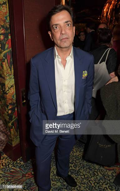 James Henderson attends the 'Country Town House Great British Brands' party at Annabel's on January 27 2020 in London England