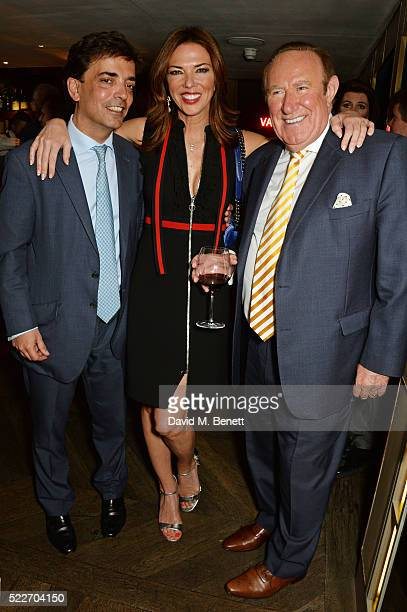 James Henderson Heather Kerzner and Andrew Neil attend as The Spectator's lifestyle magazine celebrates its fourth birthday at the Belgraves Hotel on...