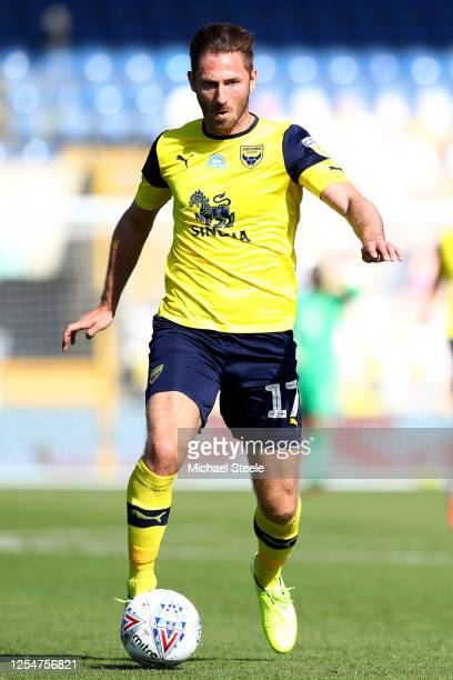 James Henry of Oxford United during the Sky Bet League One Play Off Semifinal 2nd Leg match between Oxford United and Portsmouth FC at Kassam Stadium...