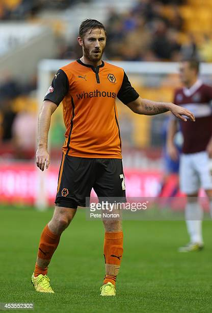 James Henry of Wolverhampton Wanderers in action during the Capital One Cup First Round match between Wolverhampton Wanderers and Northampton Town at...