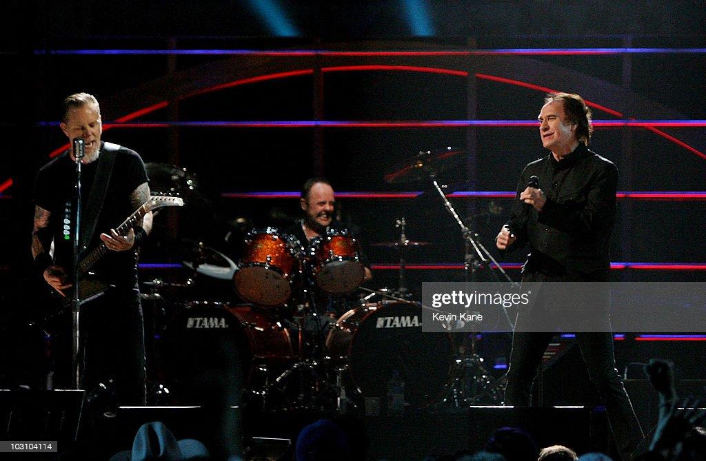 metallica rock n roll hall of fame 25th anniversary