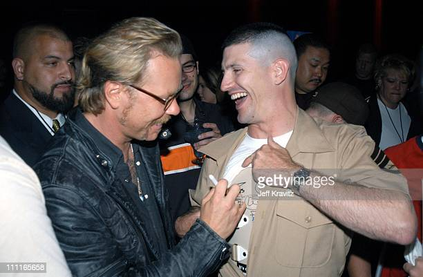 James Hetfield and US Marine wounded in combat *Exclusive*