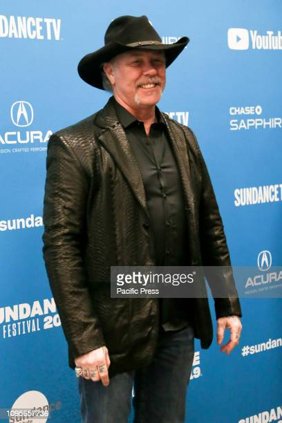 James Hetfield attends the Extremely Wicked Shockingly Evil and Vile premiere at Eccles Theater during the 2019 Sundance Film Festival in Park City...