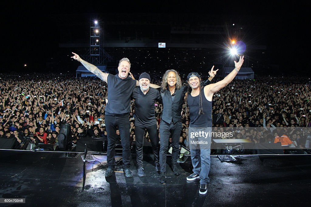 Metallica Performs In Colombia