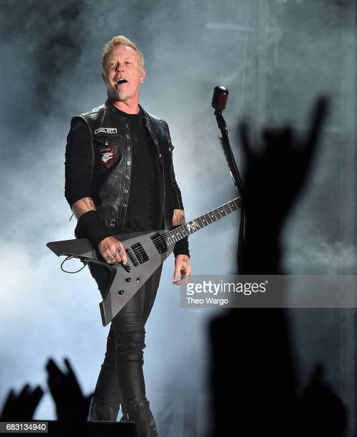 James Hetfield of Metallica In Concert East Rutherford NJ on May 14 2017 in East Rutherford City