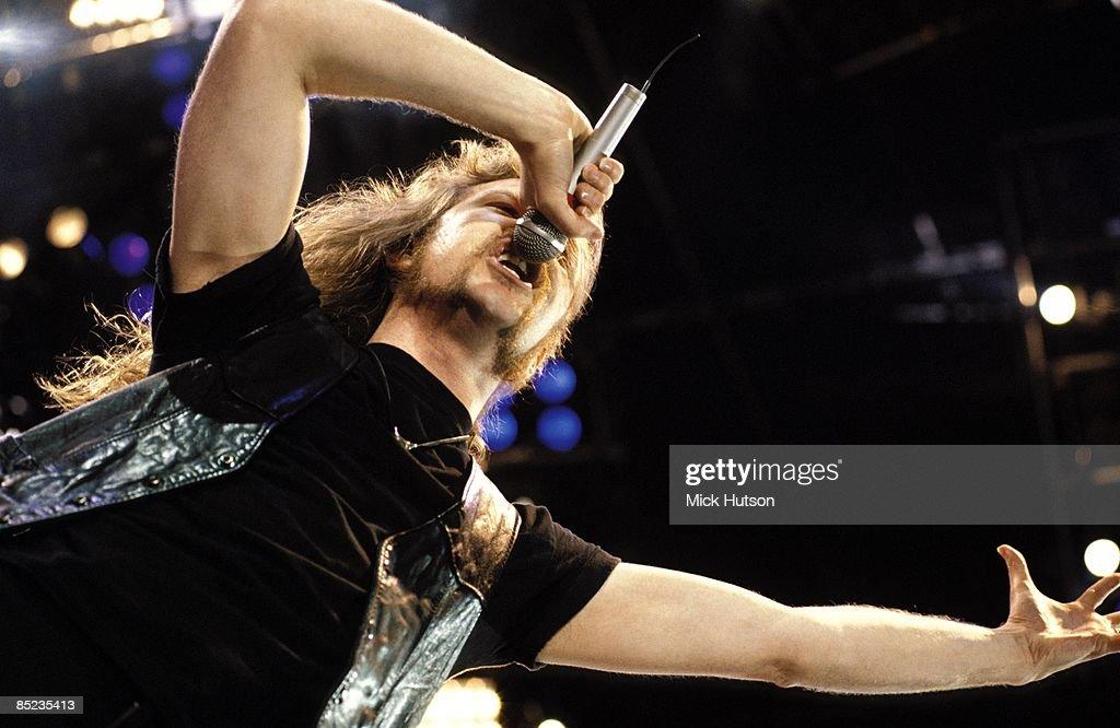 Metallica At Freddie Mercury Tribute : News Photo