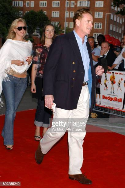 James Hewitt arrives for the UK premiere of Dodgeball at the Odeon Kensington in west London
