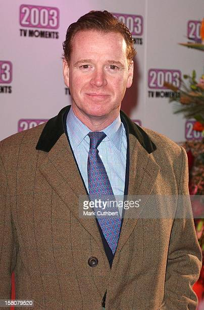 James Hewitt Attends The 2003 Tv Moments Awards At Bbc Television Centre London