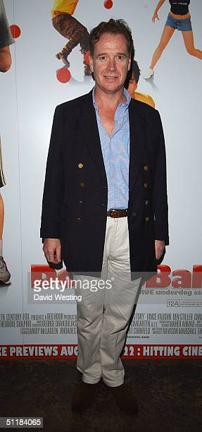 James Hewitt attends the afterparty following the UK Premiere of 'Dodgeball A True Underdog Story' at Sound Leicester Square August 17 2004 in London...