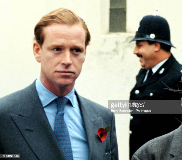 James Hewitt leaves Okehampton Magistrates Court Devon today after appearing on a drinkdriving charge The case was adjouned until November 14 See PA...