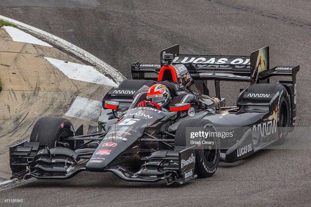Indy Grand Prix of Alabama : News Photo