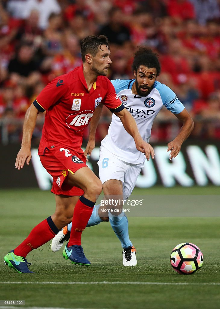 A-League Rd 15 - Adelaide v Melbourne City