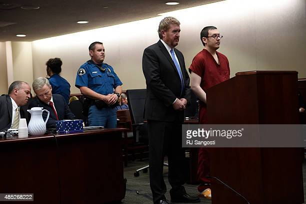 James Holmes appears in court with his attorney Daniel King to be formally sentenced The formal sentencing concluded on the third day at Arapahoe...