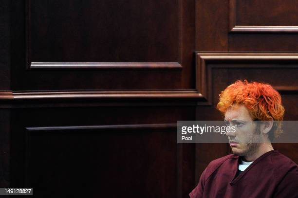 James Holmes makes his first court appearance at the Arapahoe County on July 23 2012 in Centennial Colorado According to police Holmes killed 12...